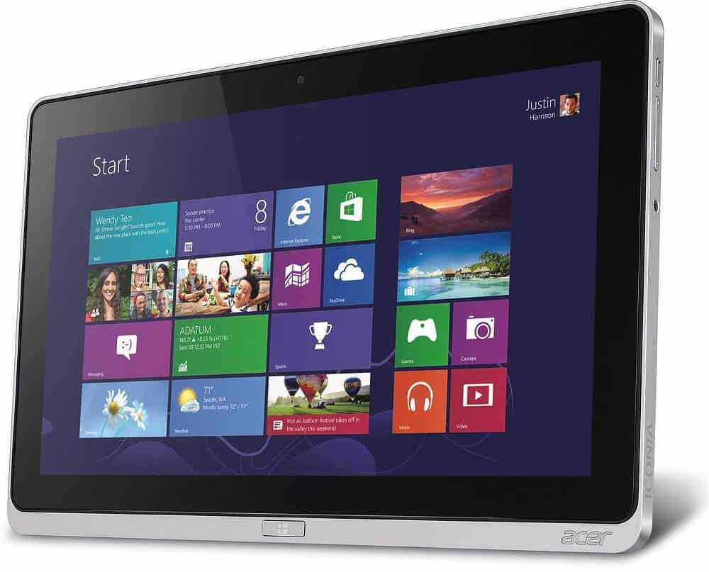 Acer iconia w700p 6821 11 6 inch tabletninja for 11 inch table