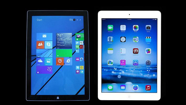Surface-and-iPad