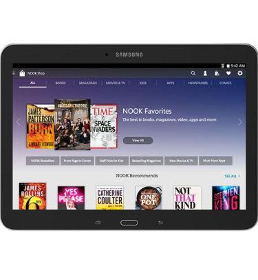 Samsung Galaxy Tab 4 Nook Edition 10.1-inch e-book