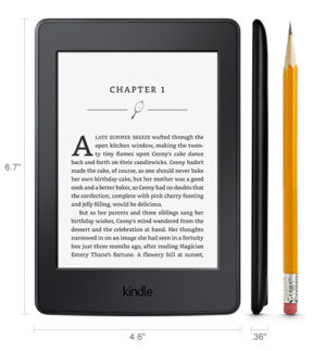 Kindle Paperwhite 3rd Generation 6-inch e-book